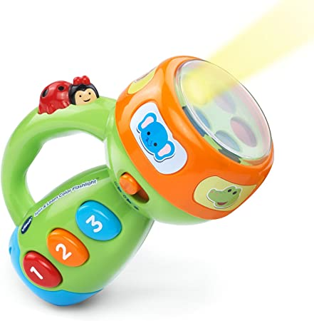 VTech Spin & Learn Color Flashlight Amazon Exclusive, Lime Green