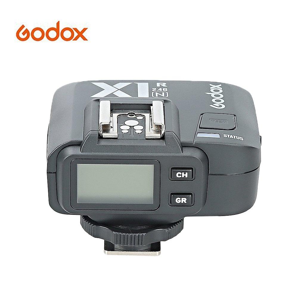 Godox X1R-N i-TTL 2.4G Wireless Flash Trigger Receiver High Speed Sync 1/8000s for Nikon DSLR Cameras (Godox X1R-N Receiver) 4332045248