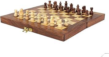 Folding Chess Wooden Games Set