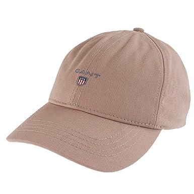 a3f043f1438 GANT Unisex Baseball Cap Twill Cap One Size in Beige  Amazon.de  Bekleidung