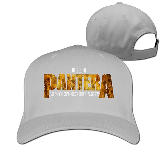 f7ea71300a24d Pantera - The Best Of Pantera Sports Trucker Hat Hunting Cap  Amazon ...