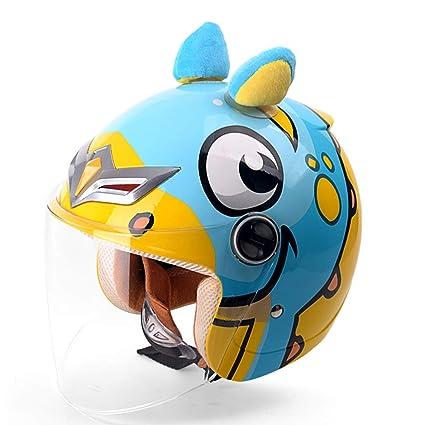 Gx casco per bambini per simpatico cartone animato caschi jet moto