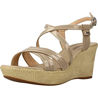 Nero Giardini Women s Shoes Wedge Sandals P805662D   410 Size 36 Sand fdd0bed82aa