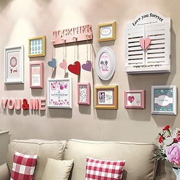 Cadres Photo Moderne Minimaliste Photo Cadre Mur Lettre Coeur En
