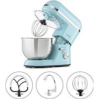 Klarstein Bella Elegance - Robot de cocina, Potencia 1300W/1,7PS, 6 niveles, Función pulso, Sistema de amasado…