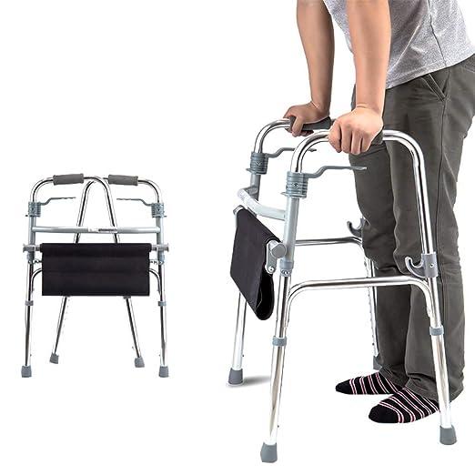 WY-WHEEL Andadores para Ancianos de Aluminio Plegable - Andador ...