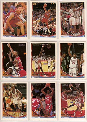 fan products of Los Angeles Clippers 1993-94 Topps High Gloss (GOLD PARALLEL) Basketball Team Set (Players Name and Topps Logo In GOLD Foil) (Series 1 & 2) Terry Dehere (RC), Danny Manning, Tom Tolbert, Mark Aguirre, Stanly Roberts, Ron Harper, Bob Martin, Mark Jackson, Gary Grant, Elmore Spencer, John Williams, Randy Woods, Loy Vaught