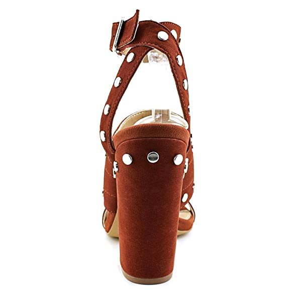 8d09b279a27 Amazon.com | Steve Madden Jansen Women Open Toe Leather Brown ...