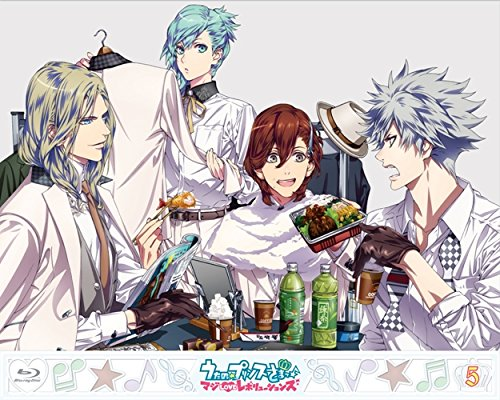 Animation - Uta No Prince-Sama Maji Love Revolutions 5 (BD+CD) [Japan BD] KIZX-225