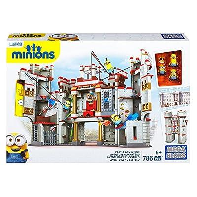 Mega Bloks Despicable Me Castle Adventure: Toys & Games