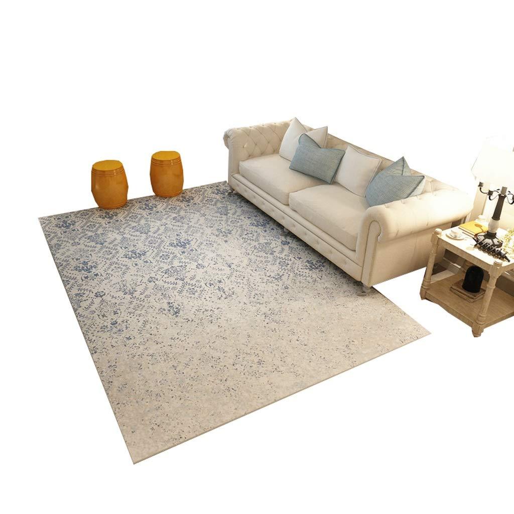 単純な 抽象絵画 エリアカーペット 高密度ドアマットカーペット 耐摩耗性 滑り止め 強い吸水性 洗える (Size : 160×230CM)   B07R46XPD1
