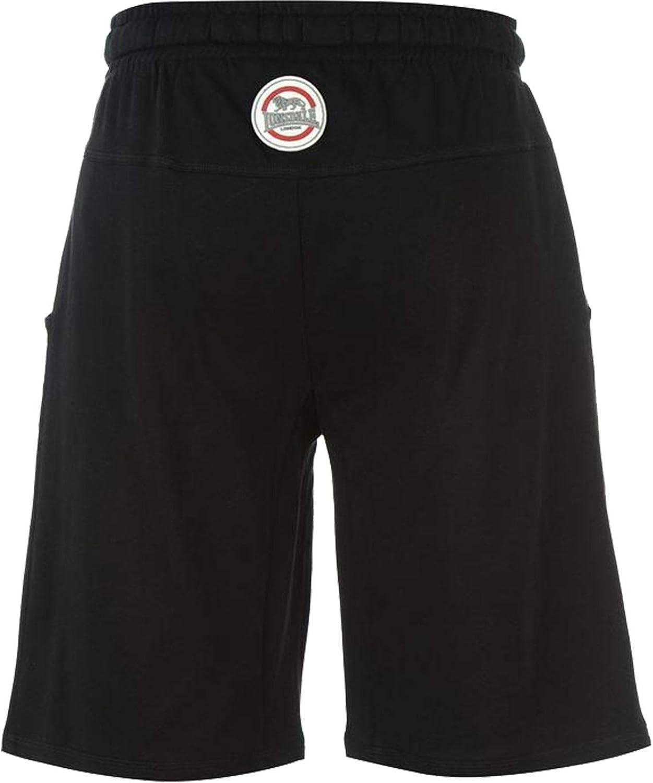 Lonsdale New Mens Fleece Jersey Lightweight Shorts Boxing Gym Summer Half Pants