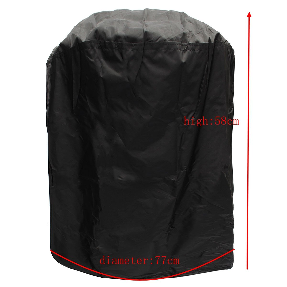 BBQ-30inch king do way Outdoor Patio Waterproof Furniture Set Covers Protective Covers for Garden Loveseat Black