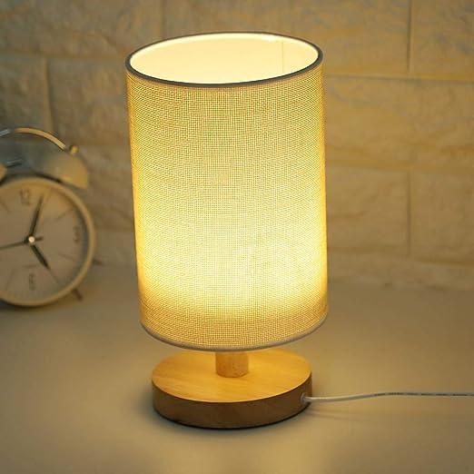 Riuty Mini lámpara de Mesa del Escritorio, mesita de Noche ...