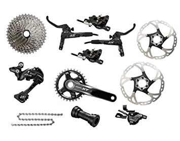 b6672a58f92 Shimano XT 1x11-speed M8000-1 Groupset incl. Disc Brakes+XT Rotors ...