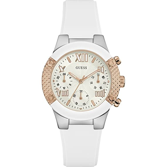Guess Reloj de Cuarzo Woman Rockstar W0773L1 44 mm: Guess: Amazon.es: Relojes