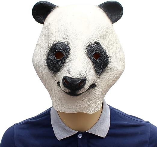 C-Y Fiesta Disfraces Máscara Panda Gigante Halloween para Pubs Al ...