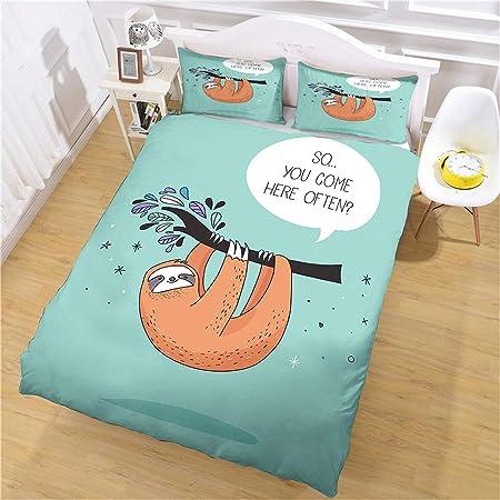Sloth Pillowcase Set | Home design