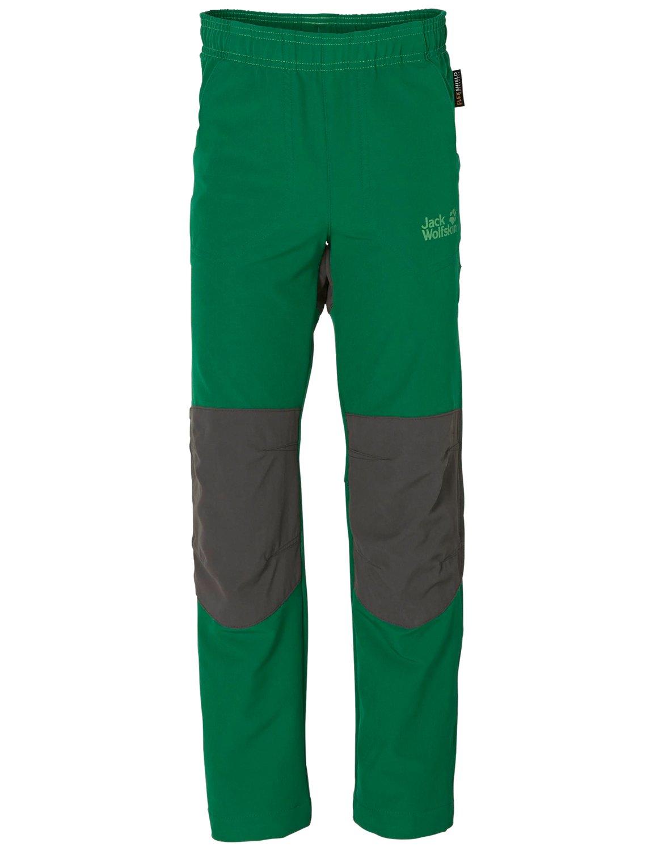 Jack Wolfskin Activate Softshell Shorts Kinder - grün - Softshellhosen pxpDUU