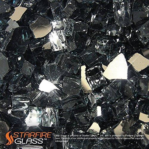 Starfire Glass 20 Pound Gunmetal Reflective