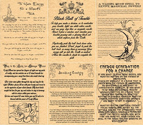 6-energy-spells-book-of-shadows-spells-pages-witchcraft-wicca-pagan-gold