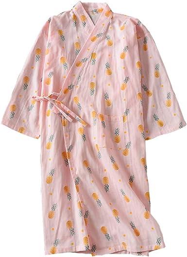 Pijama Kimono de túnica de Mujer Japonesa - Anchoas