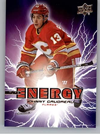 Amazon Com 2019 20 Upper Deck Hockey Series 1 Pure Energy Pe 9 Johnny Gaudreau Calgary Flames Official Ud Nhl Trading Card Collectibles Fine Art
