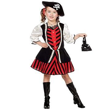 Disfraz Planet® Piratas Disfraz de niña piratin vestido infantil ...