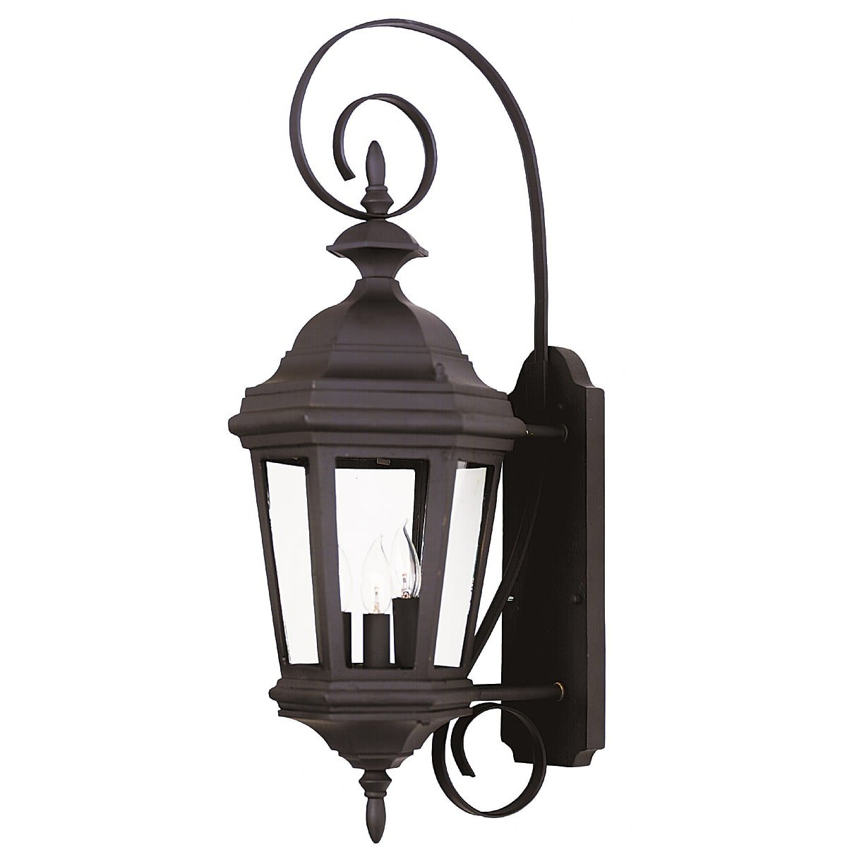 Design Craft Oscar Medium 3-light Wall Lantern