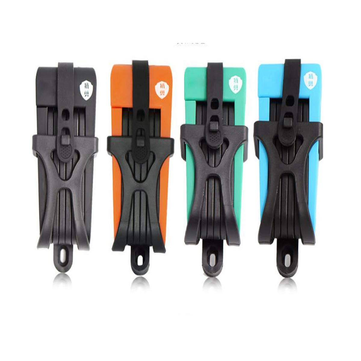8haowenju Comfortable and Practical Lock - Chain Lock, Lightweight Lightweight Bicycle Lock, Size: 2.82.85.2 Inches, Color: Black, Green, Orange (Color : Black)