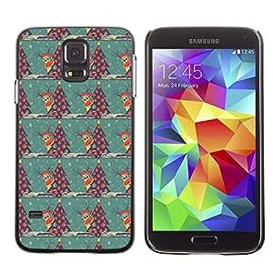ZECASE Funda Carcasa Tapa Case Cover Para Samsung Galaxy S5 I9600 No.0000016