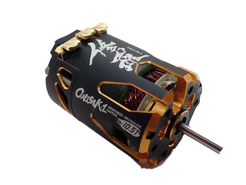 onisiki 鬼式 SHURA 修羅 3750kV ブラシレスモーター (10.5T) デュアルセンサーポート ONI6411 B07L9VK7NV