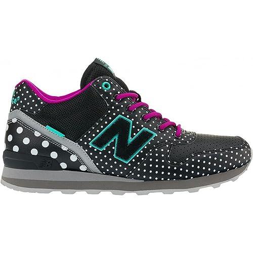 Zapatillas New Balance WH996 Lunares 40 Negro: Amazon.es: Zapatos y complementos