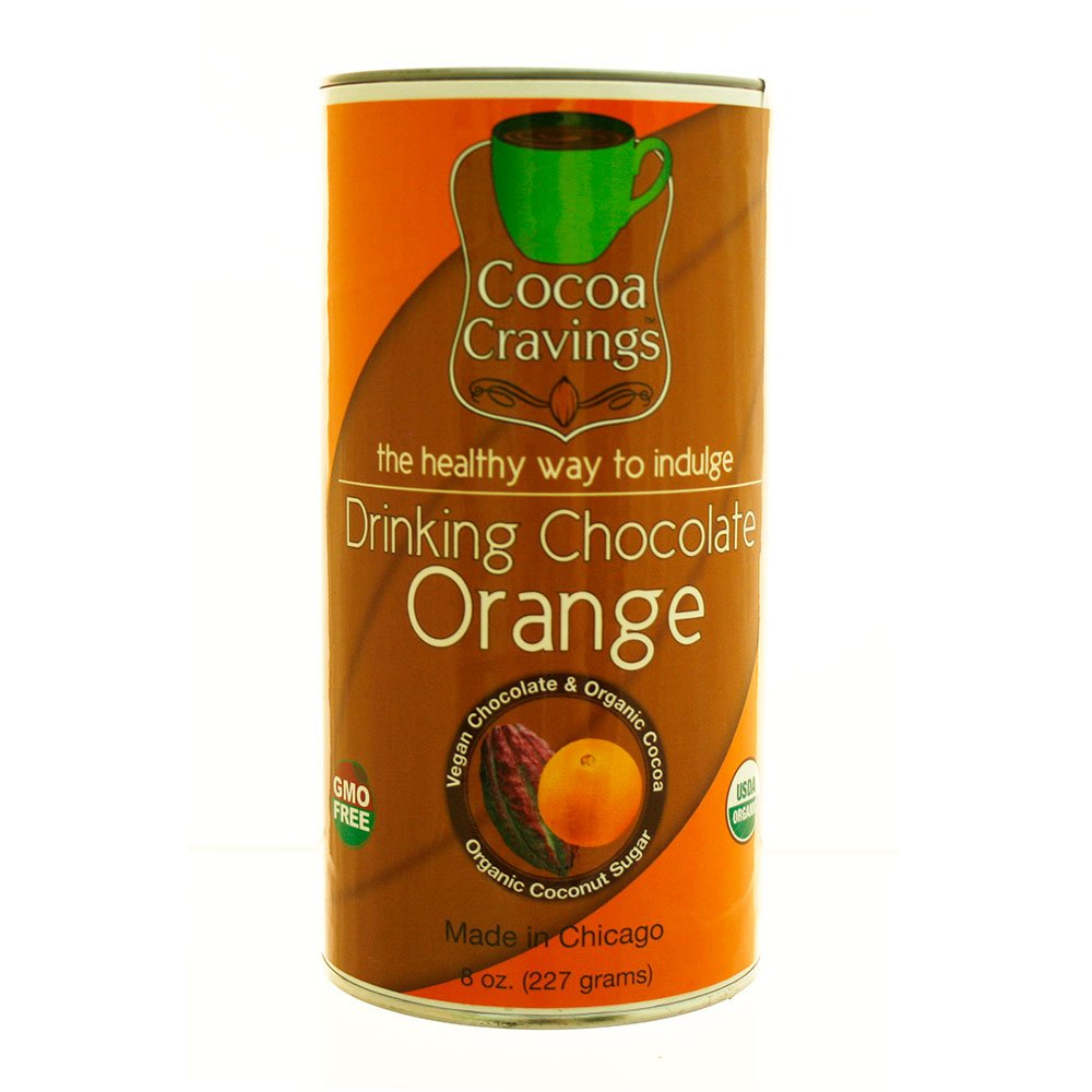 Amazon.com : Cocoa Cravings Drinking Chocolate, Orange, 8 Ounce ...