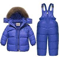 CARETOO - Conjunto de ropa de invierno para bebés y niñas, 2 unidades