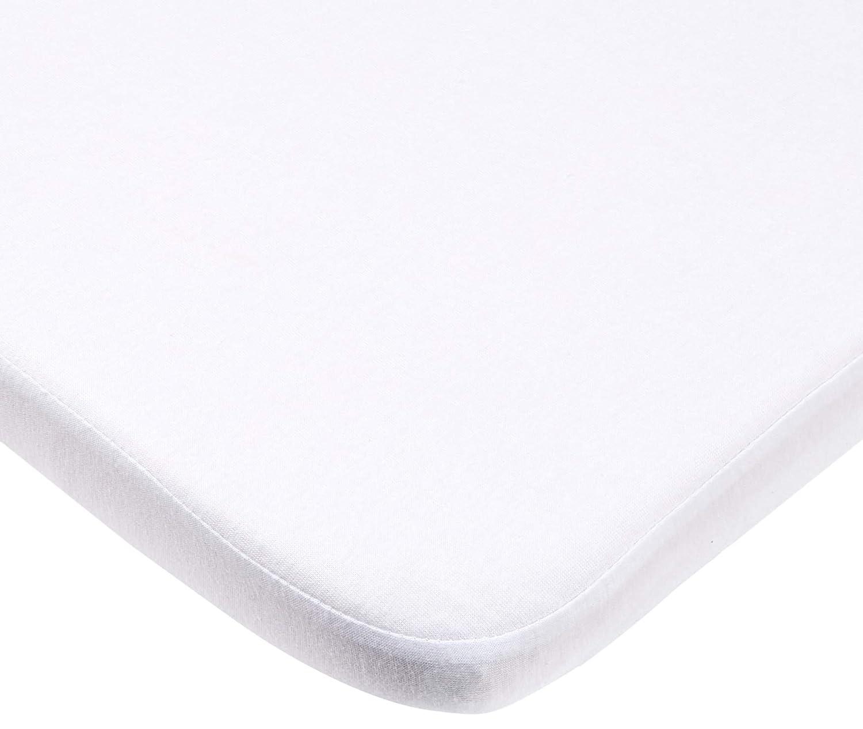 Playshoes sábana bajera Protector de colchón (40x 70cm), color blanco 770323-1