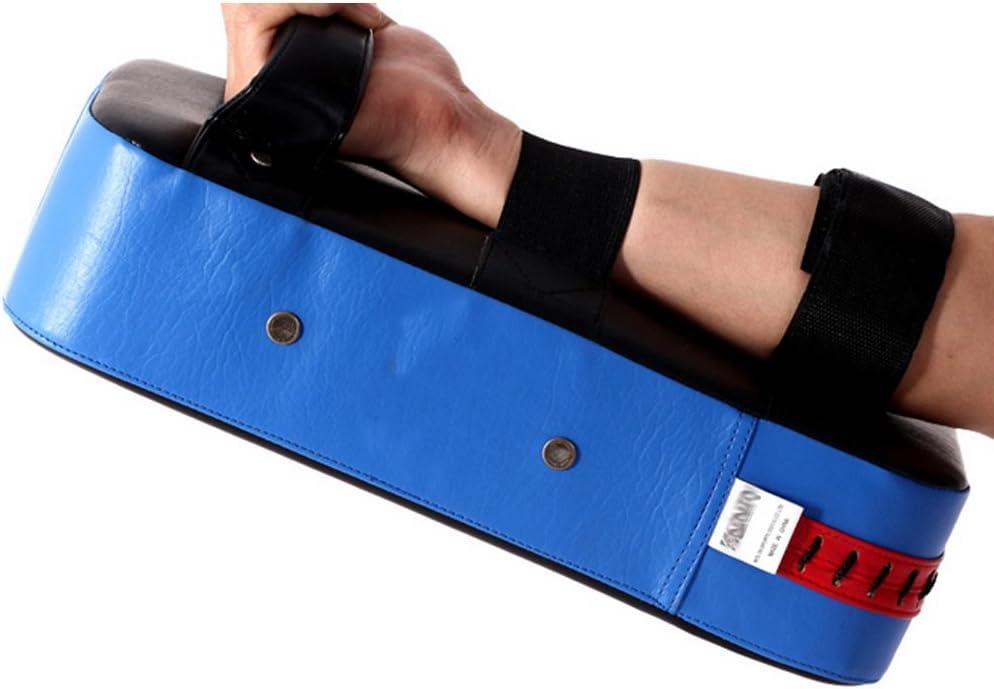 ddge dmms PU Leather Rectangle Strike Punching Kicking Pad Arm Shield Target for Focus Training of boxing Karate Muay Thai Kick UFC MMA TKD