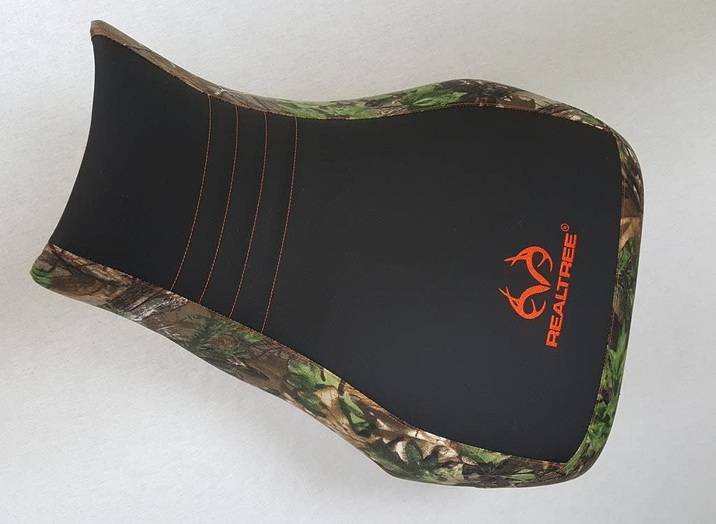 HCC Racing seat cover compatible with Honda Rancher 350 400 fits 2000-2003 Realtree Edge Camo