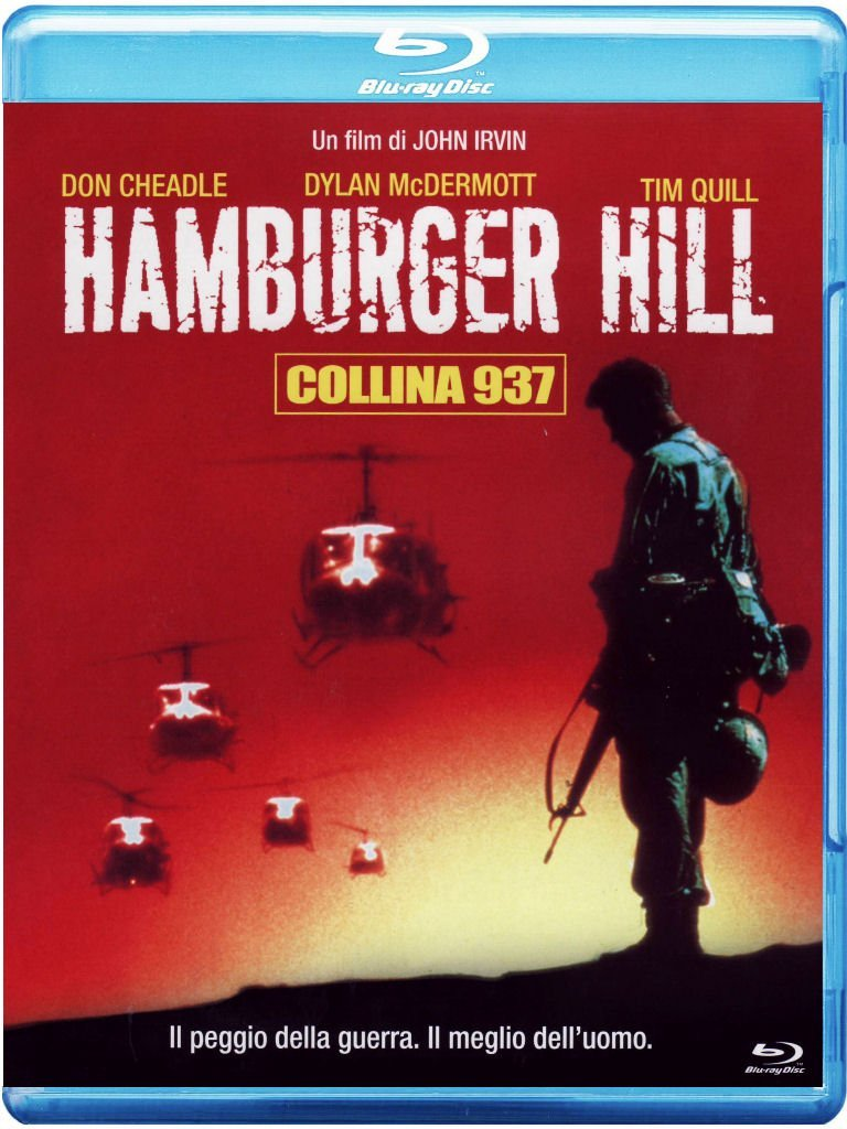 Hamburger Hill - Collina 937 [Italia] [Blu-ray]
