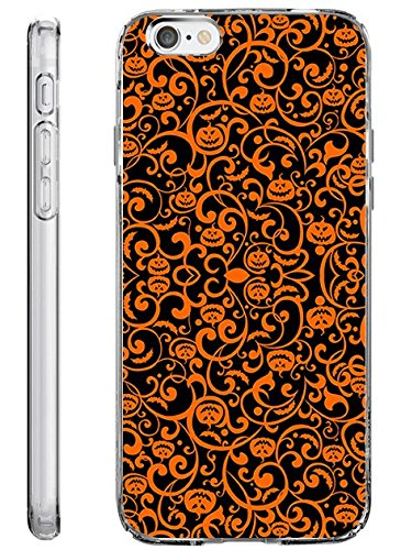 iPhone 6S Plus Case Slim Fit 5.5 Inch Halloween Little (Painted Halloween Pumpkins Ideas)