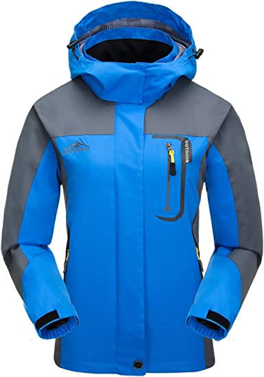 LHHMZ Womens Outdoor Windproof Hiking Jackets Lightweight Breathable Softshell Casual Coats Walking Cycling Skiing Jackets with Hood