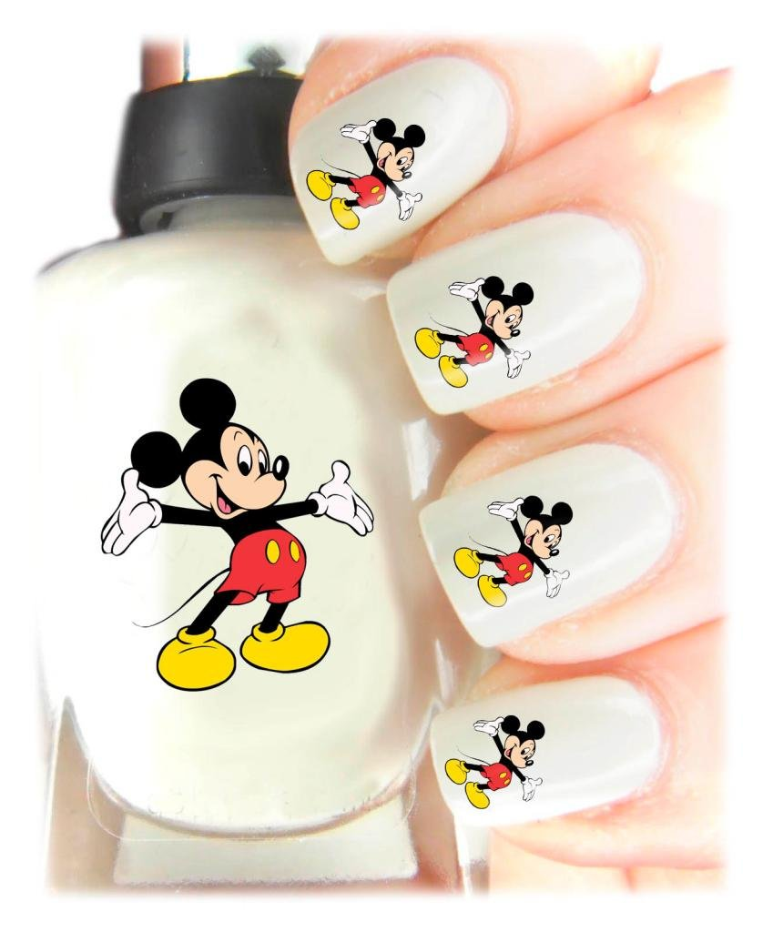 Easy to use, High Quality Nail Art Decal Stickers For Every Occasion! Ideal Christmas present, stocking filler Mickey Mouse SNAD