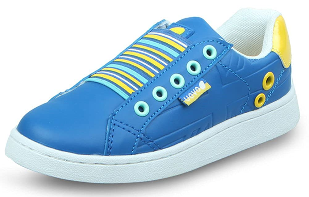 InStar Kids Fashion Candy Color Slip On Sneakers Shoes
