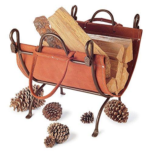 Pilgrim Home and Hearth 18519 Folding Log (Folding Log Carrier)
