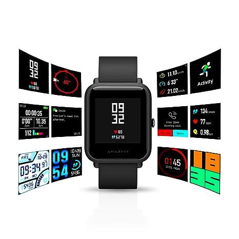 Amazfit - Reloj inteligente Bip de Huami con monitor de ...