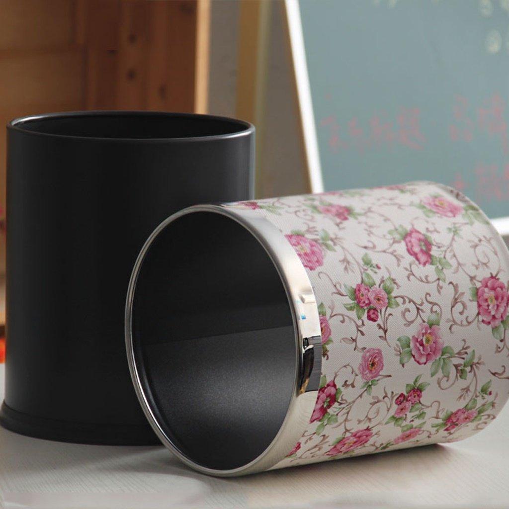 ZHAS Basura doméstica pastorales creativos Salón Dormitorio con con cama doble con Dormitorio cuero color : (sin cubierta) b12527