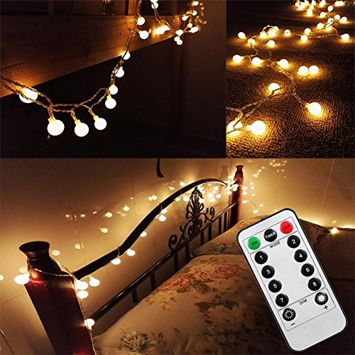 Updated-Version-16-Feet-50leds-Bedroom-Globe-LED-String-Lights-Battery-Powered-with-Remote-Timer-Outdoor-Indoor-Mood-Lighting-for-Garden-Wedding-Party-Patio-Living-Room-Warm-White-Dimmable