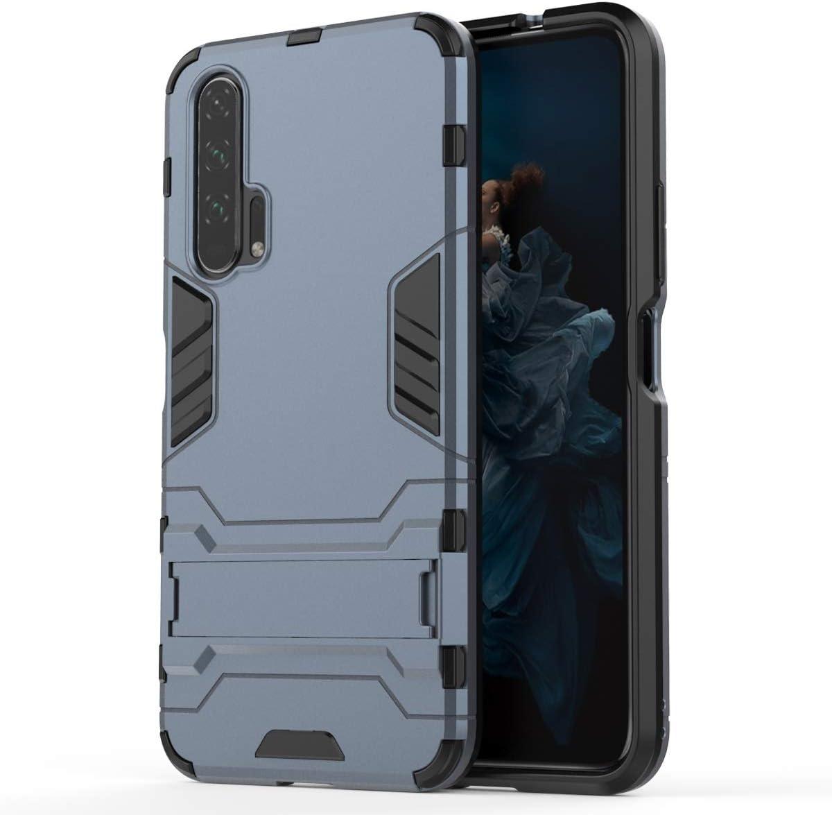 Funda estanca para teléfono móvil Resistencia a los terremotos a Prueba de Golpes de PC + TPU for Huawei Honor Pro 20, con el Titular (Negro) (Color : Navy Blue): Amazon.es: Electrónica
