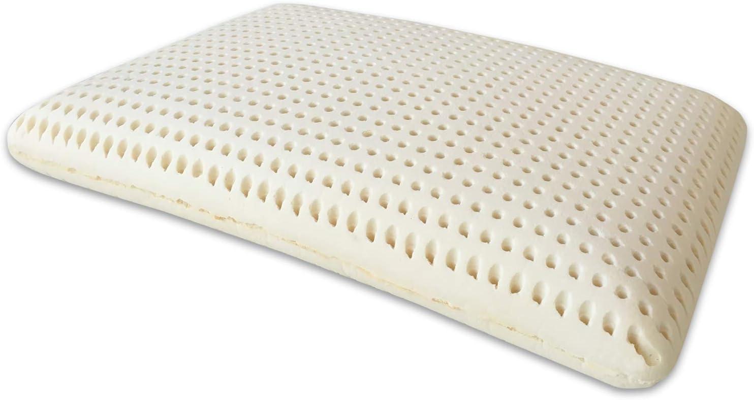 Goldflex Or Flex/ avec Ventilation verticaux /Savon en Forme de Latex Oreiller avec Un Tissu de Protection 100/% Coton bezogen Respirant 14/cm de Haut