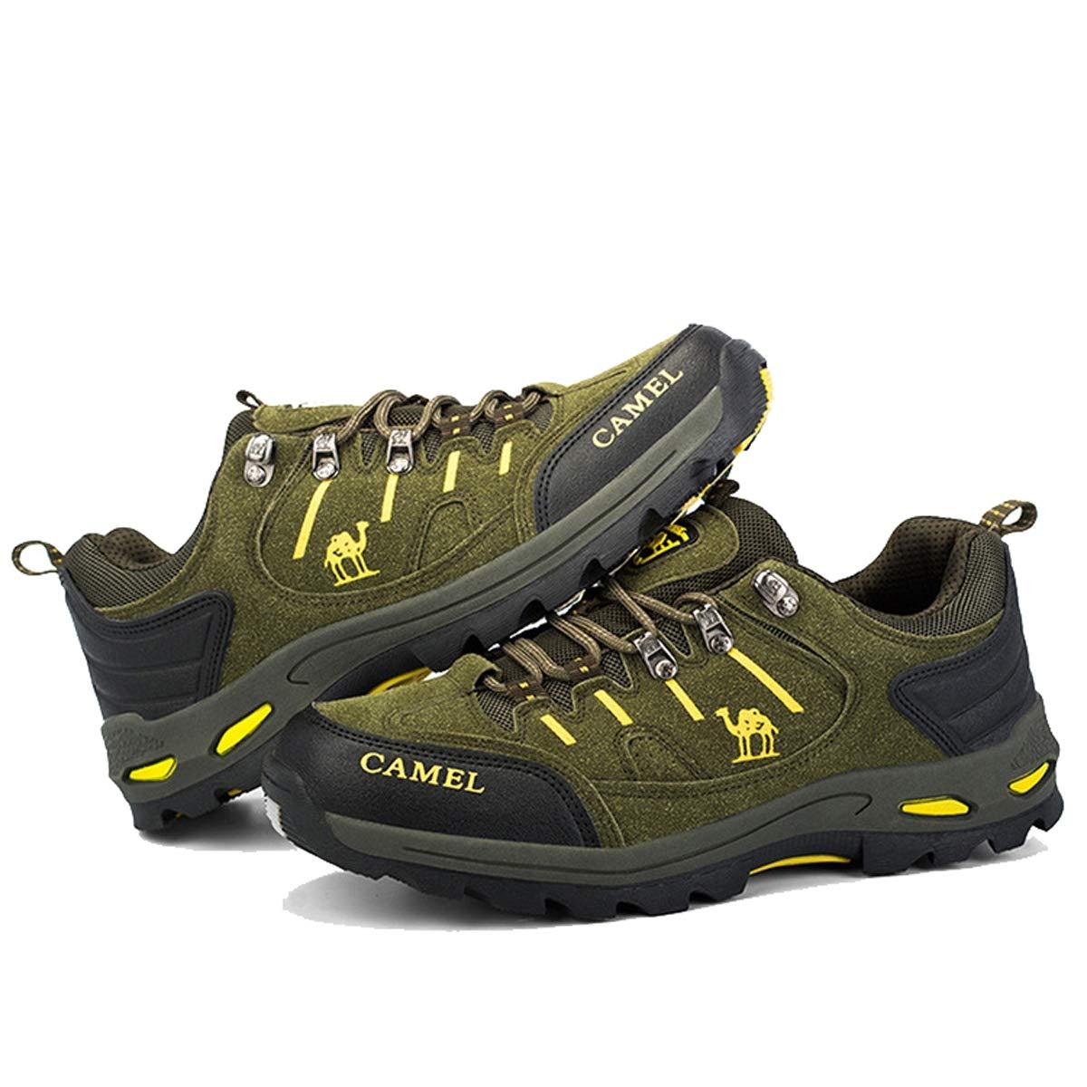 Adong Adong Adong Männer Bergsteigen Stiefel Turnschuhe Schuhe Jungle Trekking-Schuhe ow-Top-Schuhe für alle Saison,A,42EU 08c6ec